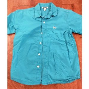 Old Navy Teal Button Up